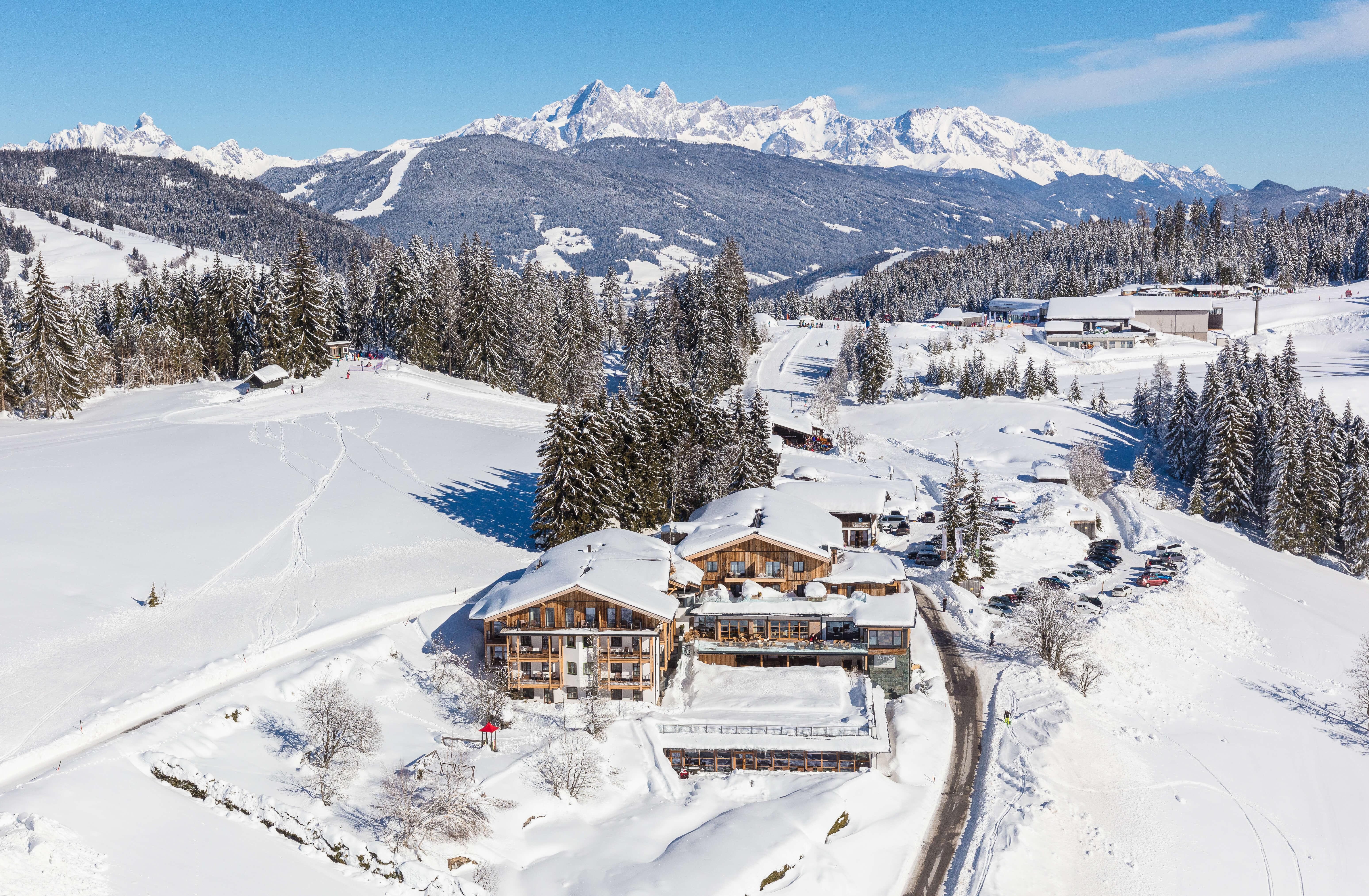 Naturidyll Hotel Edelweiss Wagrain im Winter