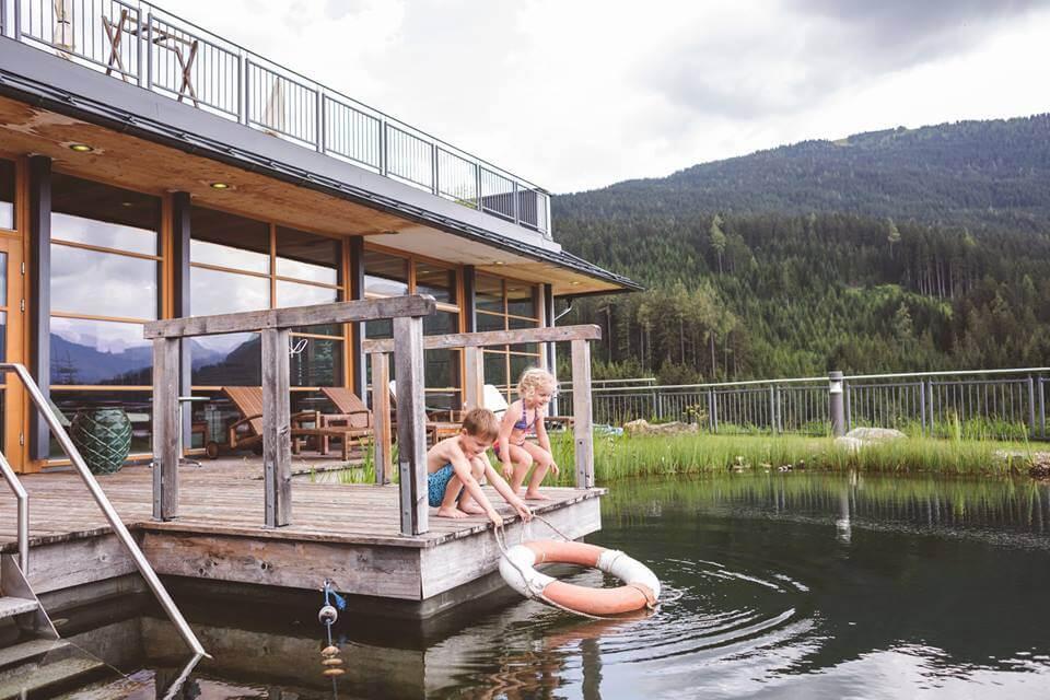 Naturschwimmteich im Naturidyll Hotel Edelweiss Wagrain
