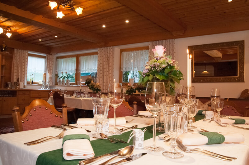 Alpenoase Sonnhof Restaurant