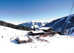 Luftansicht im Winter AlpenOase Sonnhof