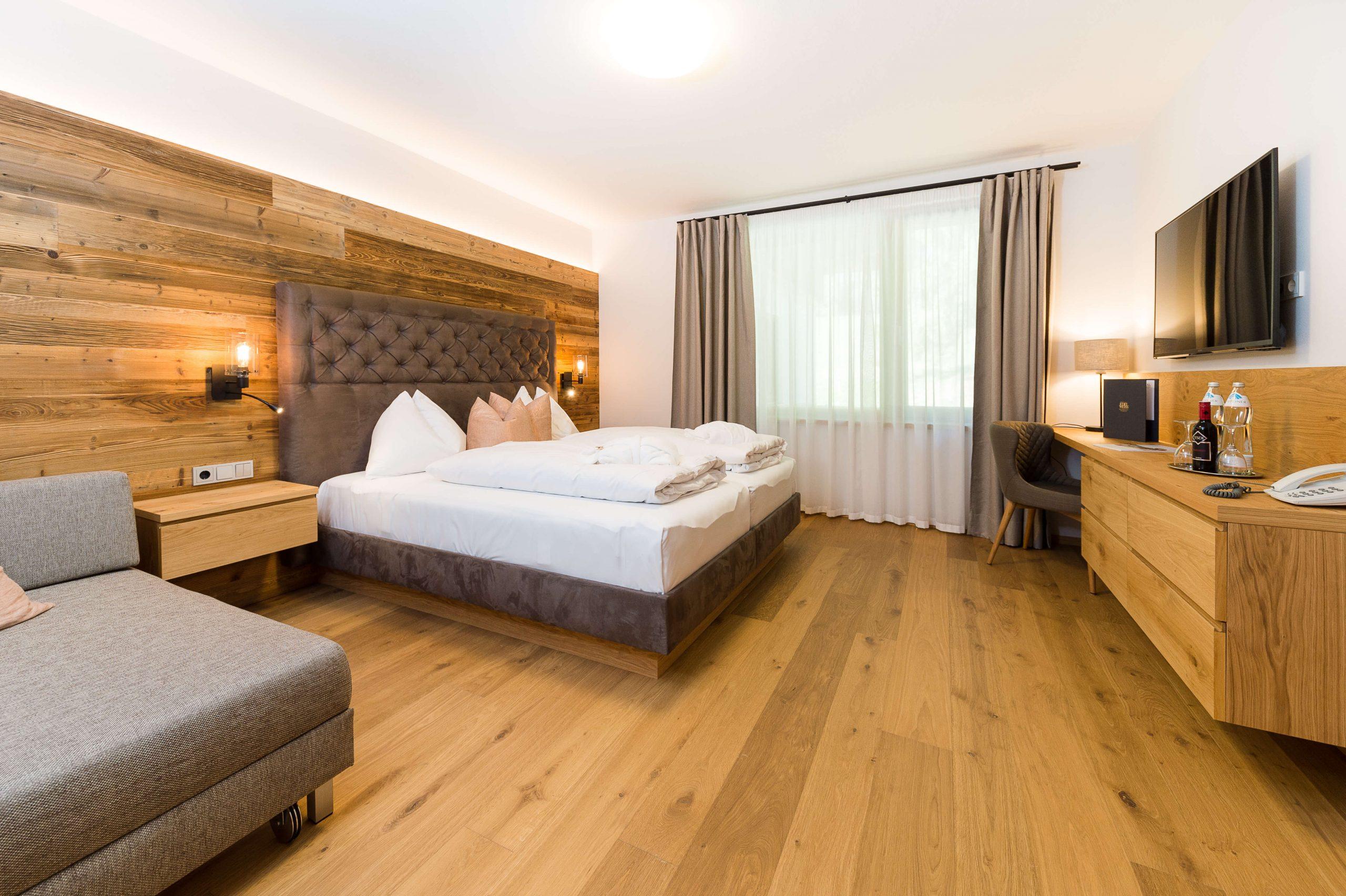 Doppelzimmer Waldklang im Naturhotel Edelweiss Wagrain