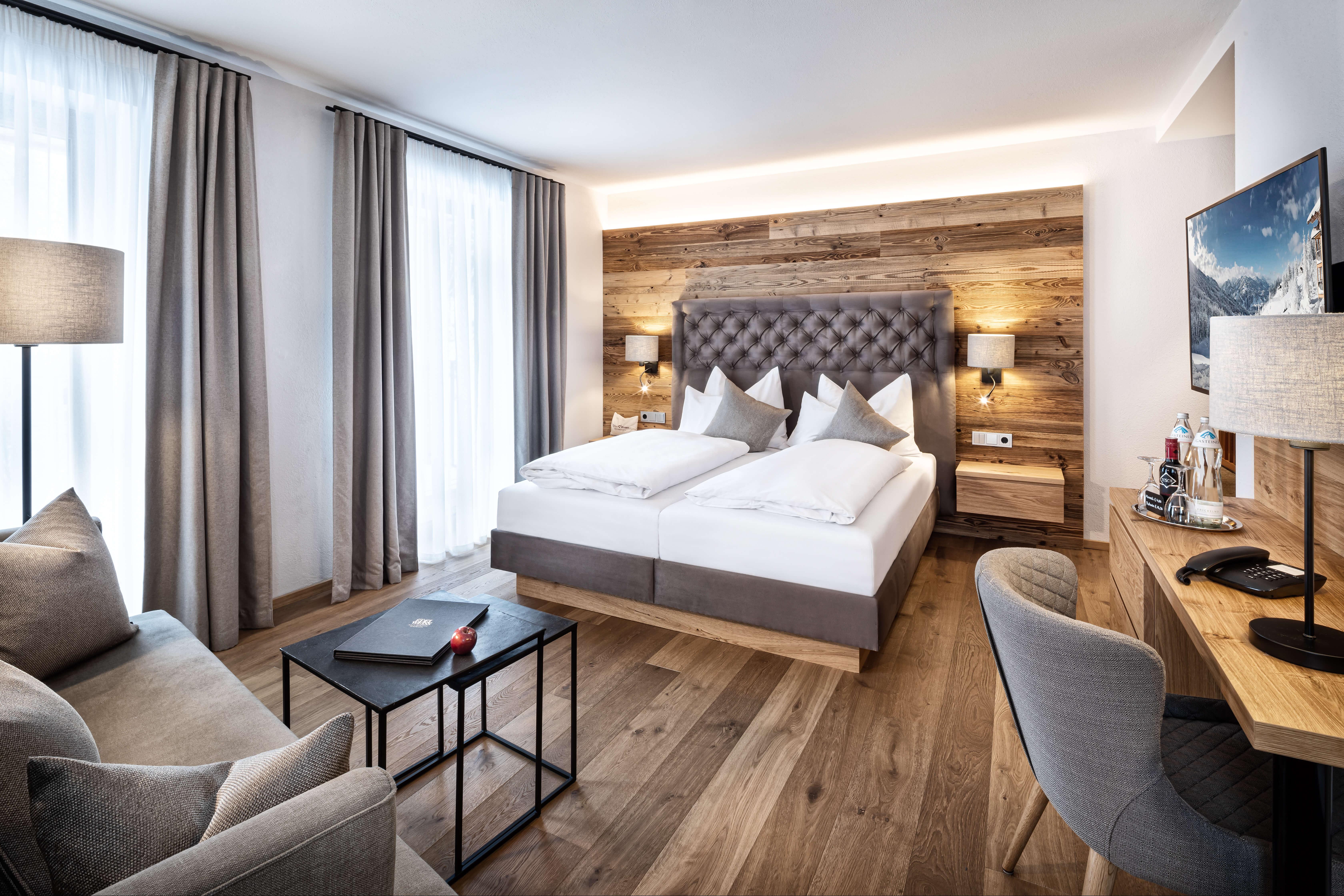 Ansicht Doppelzimmer Alpenzauber im Naturidyll Hotel Edelweiss Wagrain