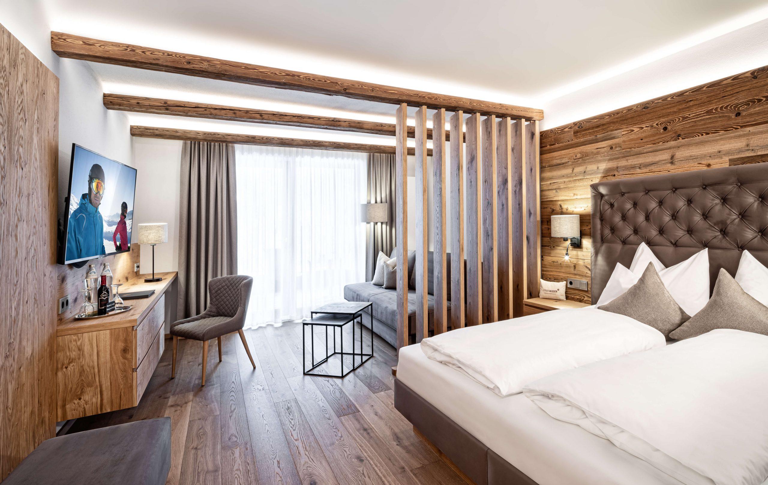 Juniorsuite Bergquell im Naturidyll Hotel Edelweiss Wagrain