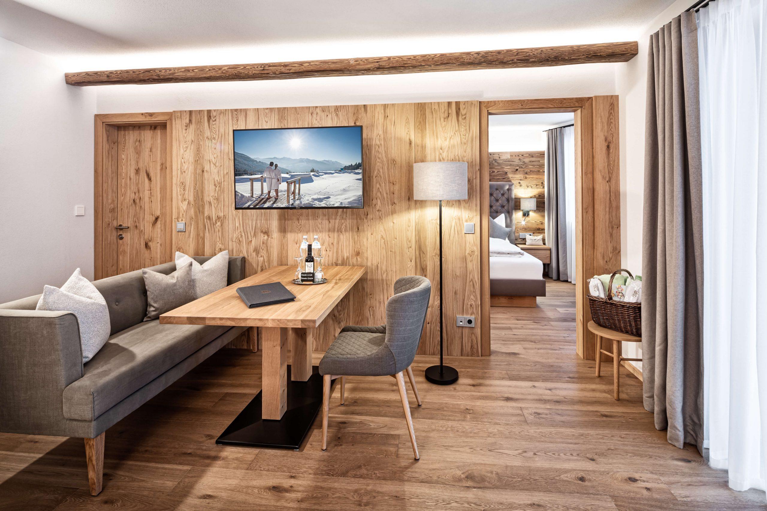 Suite Alpenzauber im Naturidyll Hotel Edelweiss Wagrain
