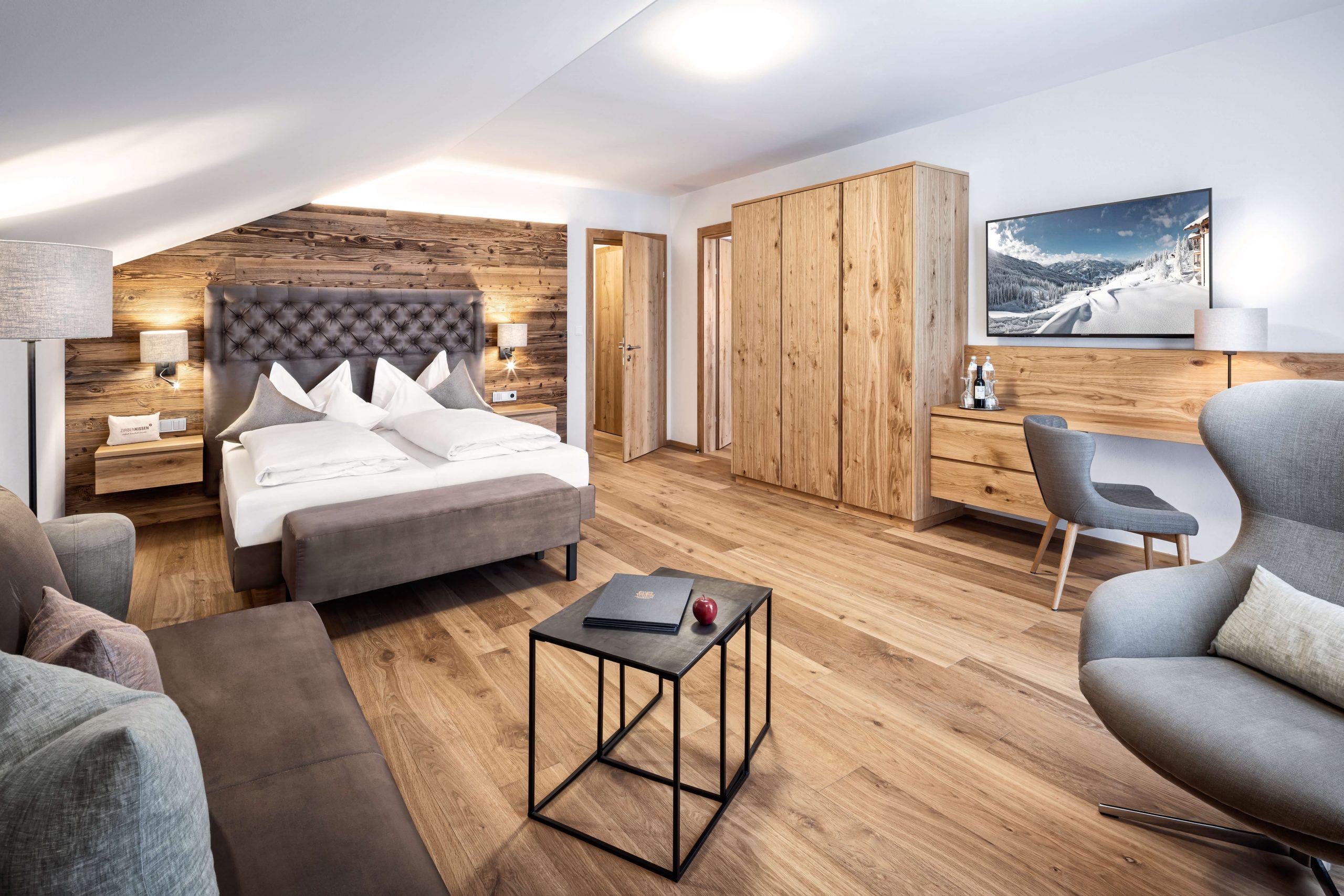 Suite XL Sternenklar im Naturidyll Hotel Edelweiss Wagrain