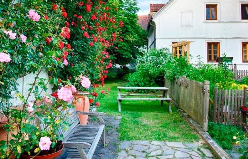 Naturidylle im Hotel Landhofmühle