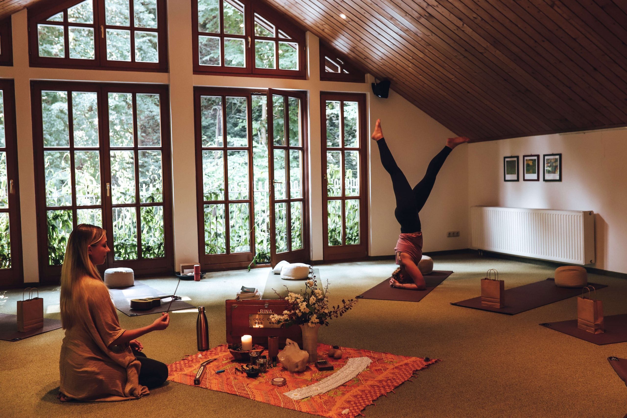 Yoga in den Naturidyll Hotels