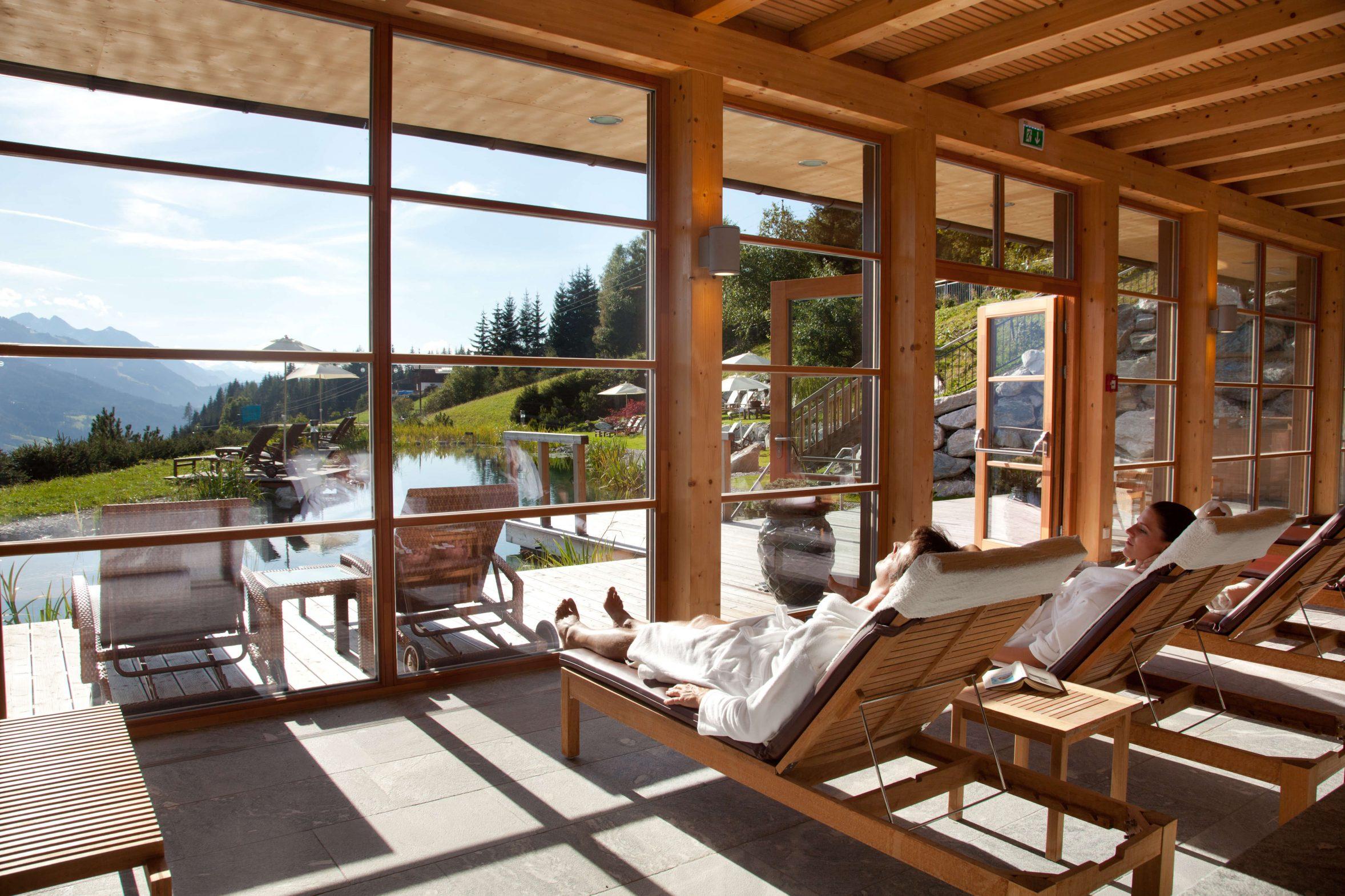 Naturidyll Hotel Edelweiss Wagrain Wellnessbereich