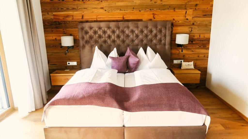 Zimmer Hotel Edelweiss ©Edelweiss Hotel ©Rast.Los.Gelöst