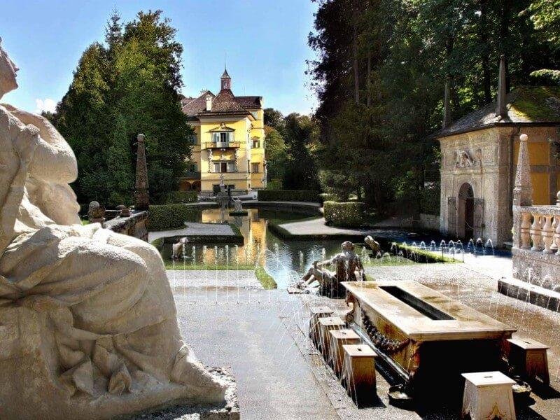 Lustschloss Hellbrunn in Salzburg
