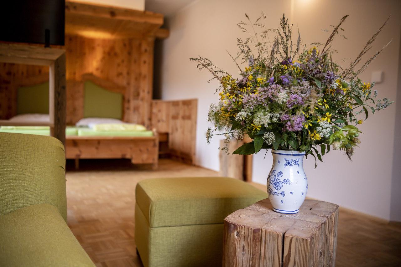 Kuscheln im Steinschalerhof Naturidyll Hotel