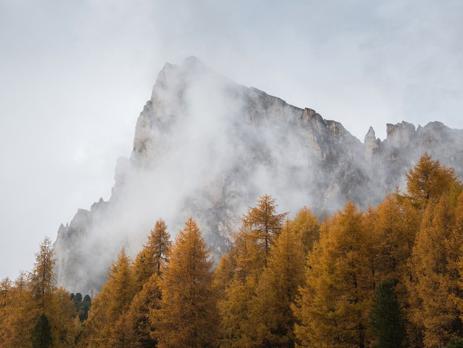 Herbst in den Dolomiten Naturidyll Hotels